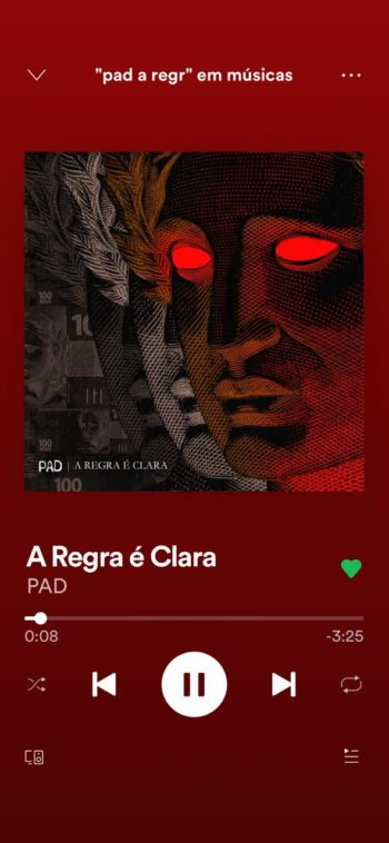 PAD A Regra é Clara